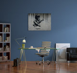 Banksy Playtime Canvas Wall Art