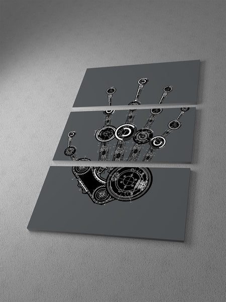 Robo Hand I Canvas Wall Art