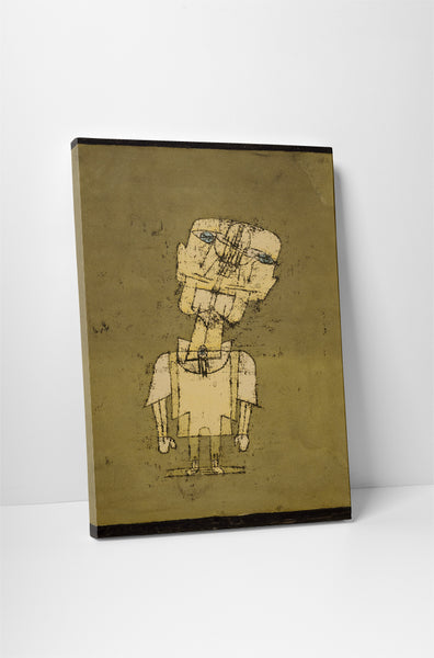 Paul Klee Ghost Of A Genius Canvas Wall Art