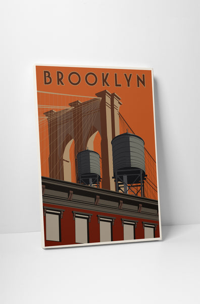 Steve Thomas Brooklyn Canvas Wall Art