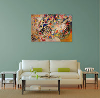 Wassily Kandinsky Composition VII Canvas Wall Art