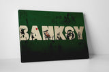 Banksy Tribute To Banksy Collage Canvas Wall Art