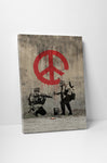 Banksy - Peace Sign Soldiers