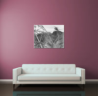 Ansel Adams Boulder Dam Transmission Lines Canvas Wall Art
