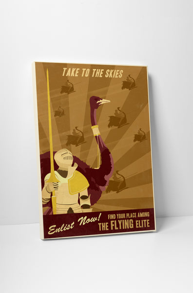 Steve Thomas Flying Elite Canvas Wall Art