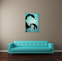 Zodiac Sign Scorpio Canvas Wall Art