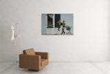 Banksy Looting Soldiers Canvas Wall Art