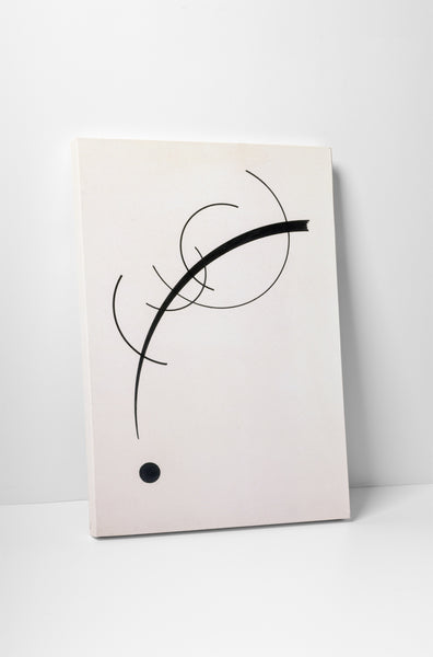 Wassily Kandinsky Free Curve to the Point Canvas Wall Art