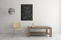 Apple Computer Patent Canvas Wall Art