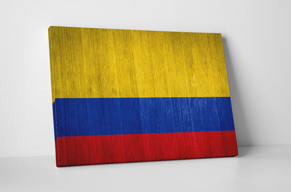 Vintage Colombia Flag