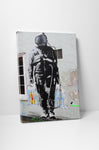 Banksy - Shopping Astronaut Stretched Canvas
