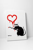Banksy - Love Rat