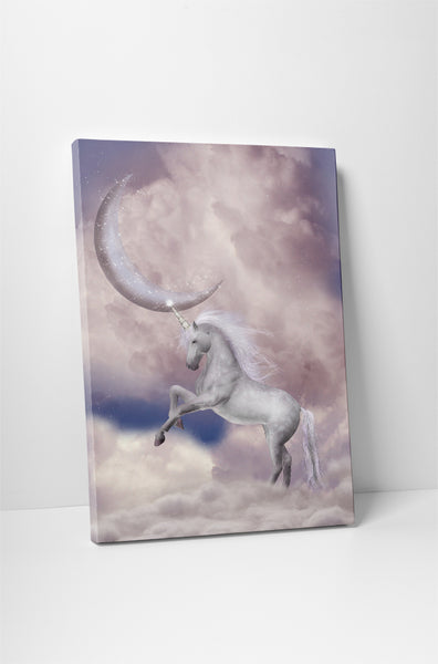 Unicorn I Canvas Wall Art
