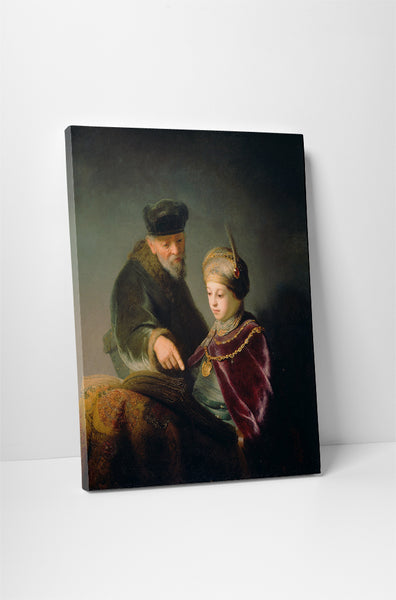 Rembrandt - A Young Scholar And His Tutor