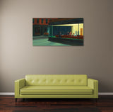 Edward Hopper Nighthawks Canvas Wall Art