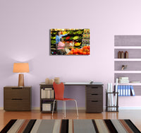 Comfort Keepers Shopping Together Canvas Wall Art
