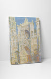 Claude Monet - Rouen Cathedral, Sunlight