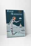 Steve Thomas Lunar Adventures Canvas Wall Art