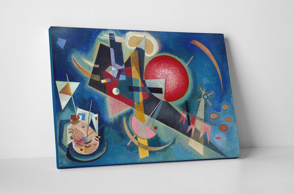 Wassily Kandinsky I'm Blue Canvas Wall Art