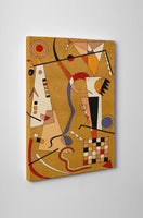Wassily Kandinsky Airplane Canvas Wall Art