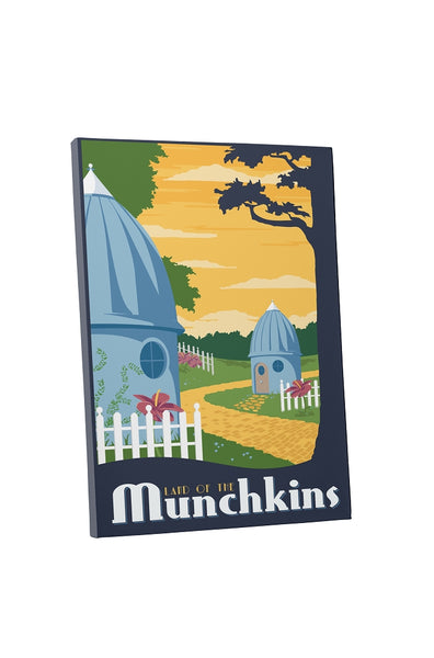 Steve Thomas Land of Munchkins Canvas Wall Art