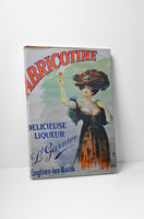 Vintage Ad Poster Abricotine Canvas Wall Art