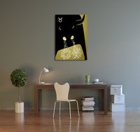 Zodiac Sign Taurus Canvas Wall Art