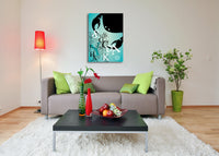 Zodiac Sign Cancer Canvas Wall Art