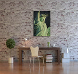 New York Statue Of Liberty Canvas Wall Art