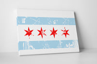 City of Chicago Vintage Flag