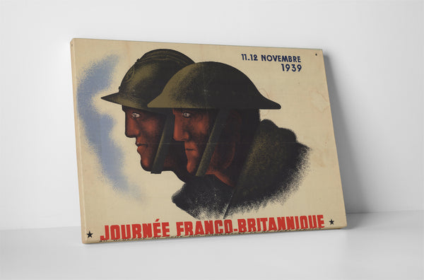 Joint Franco-British Forces Poster
