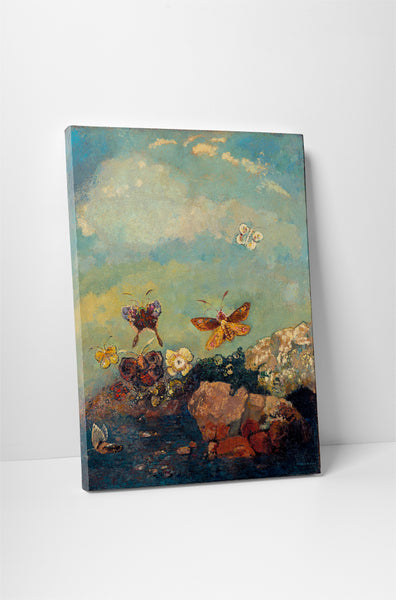 Odilon Redon - The Butterflies