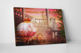 Fairy Carriage Canvas Wall Art