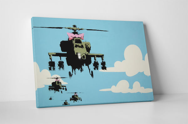 Banksy - Helicopters With a Bow