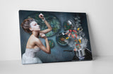 Magic Cooking Canvas Wall Art