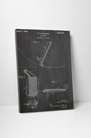 Golf Club Patent Canvas Wall Art