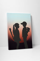 Banksy - Girl Meets Boy Sunset Edition