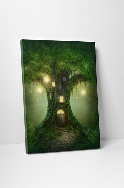 Magic Tree House Canvas Wall Art