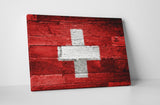 Vintage Switzerland Flag