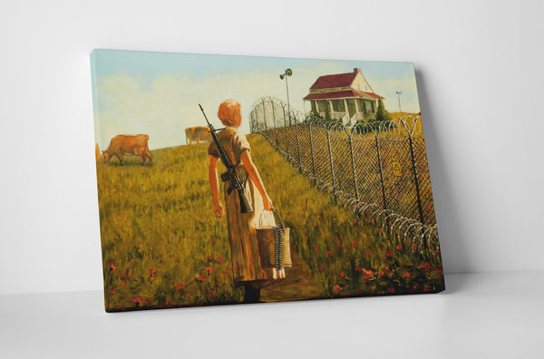 Banksy - Little House on The Prairie