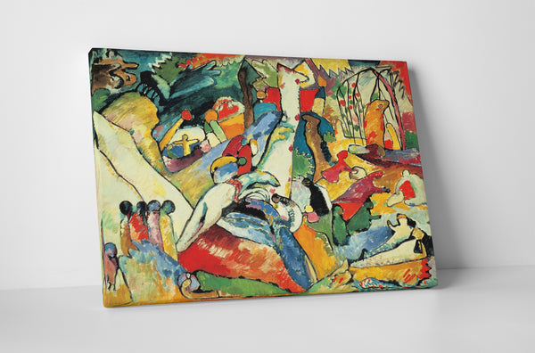 Wassily Kandinsky Composition II Canvas Wall Art