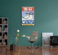 Steve Thomas You Keep Us Firing Canvas Wall Art