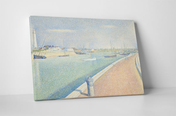 Georges Seurat - The Channel At Gravelines