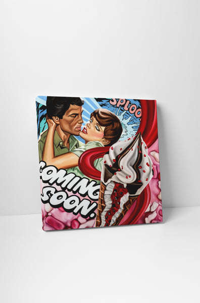 James Rawson Coming Soon Modern Pop Canvas Wall Art