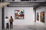 James Rawson Do Not Adjust Your Set Modern Pop Canvas Wall Art