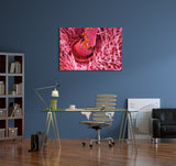 Pollen on Bee Antennae Canvas Wall Art