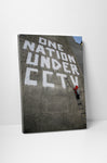 Banksy - One Nation Under CCTV Stretched Canvas