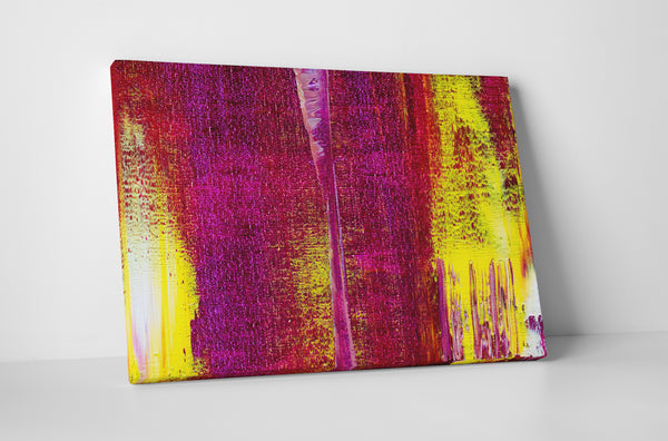 Warm Plaster Canvas Wall Art