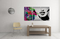 Saying It With Colors Canvas Wall Art
