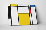 Abstract Colorful Squares I Canvas Wall Art